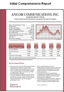 CEO Quarterly reports