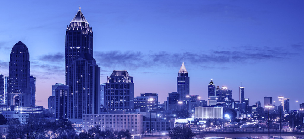 Atlanta, Georgia Skyline at Dawn